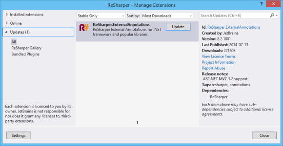 resharper-extensions